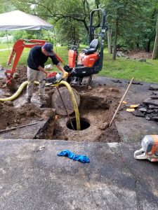 water line repair monroe new york