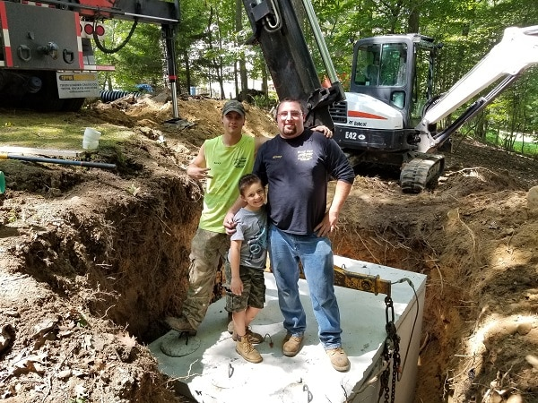 septic system installation chester new york